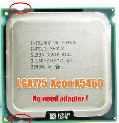 Intel Xeon X5460 LGA775 = (core 2 quad Q9650) (TDP120w) FSB1333 SLBBA, used for sale  Shipping to Canada