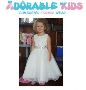 New Ivory Flower Girl Dress size 2 to 20
