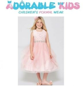 Brand New Blush Flower Girl Dress | Birthday Dress