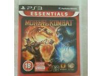 PS3 MORTAL KOMBAT GAME £5