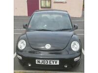 Volkswagen Beetle 1600 Black