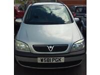 7 seater Vauxhall zafira 2000