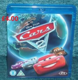 Disney Cars 2 Blu Ray Awesome Film Great Film to Watch on a Rainy Day