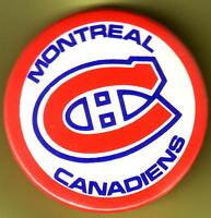 2 macarons des Canadiens de Montréal