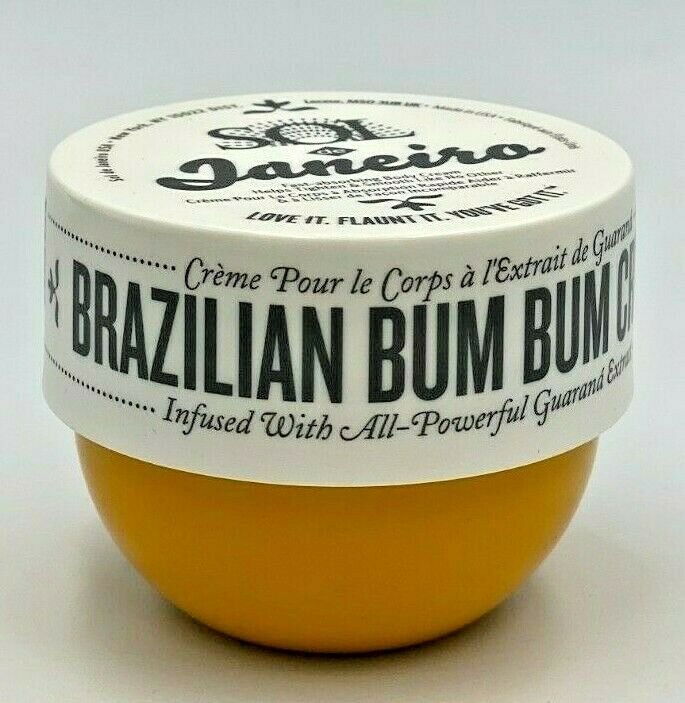 Sol de Janeiro Bum Bum Cream Travel Size 2.5oz / 75ml New Se