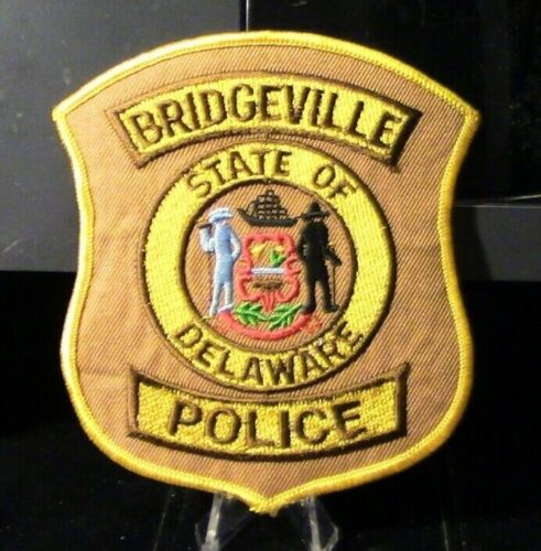 Retired Patch: Bridgeville Police, State of Delaware Patch