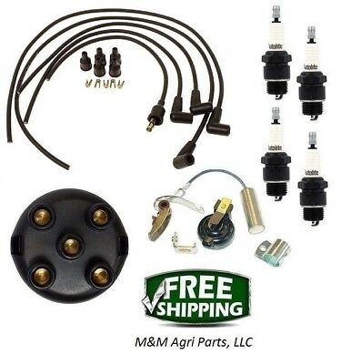 Farmall 200 240 Tractor - Ih Distributor Ignition Tune Up Kit