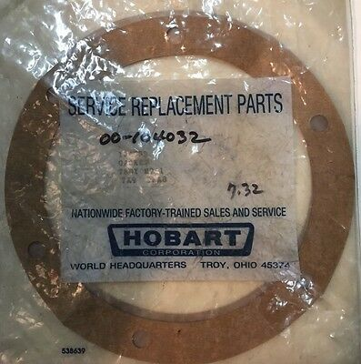 Hobart Dishwasher Gasket Genuine Part 00-104032 104032