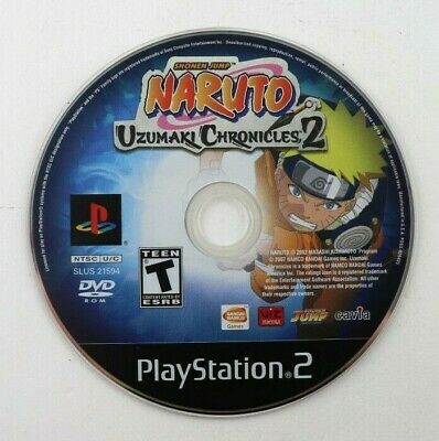 PS2 Naruto: Uzumaki Chronicles 2 (Sony PlayStation 2, 2006) Disc Only Tested comprar usado  Enviando para Brazil