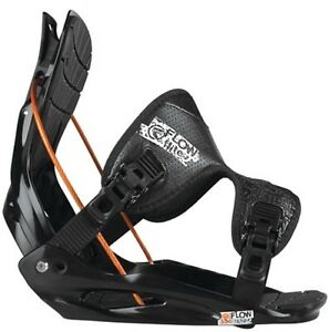 New Flow Flite 2 Mens Medium All Mountain Snowboard Bindings 2013 Msrp$160