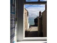 St Ives sea view holiday apartment to rent