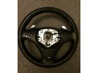 BMW 3 SERIES 335 330 PADDLE SHIFT M SPORT STEERING WHEEL