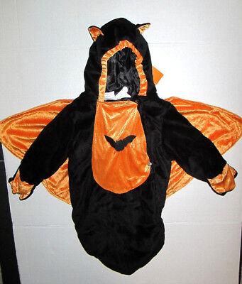 Halloween Baby Velour Bat Costume Bunting boy or girl 0-9M NWT - Baby Boy Bunting Halloween Costumes