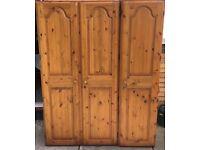Pine Ducal wardrobe for sale
