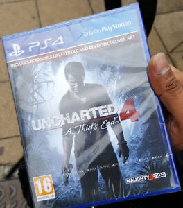 Uncharted 4 for PS4 Brand New