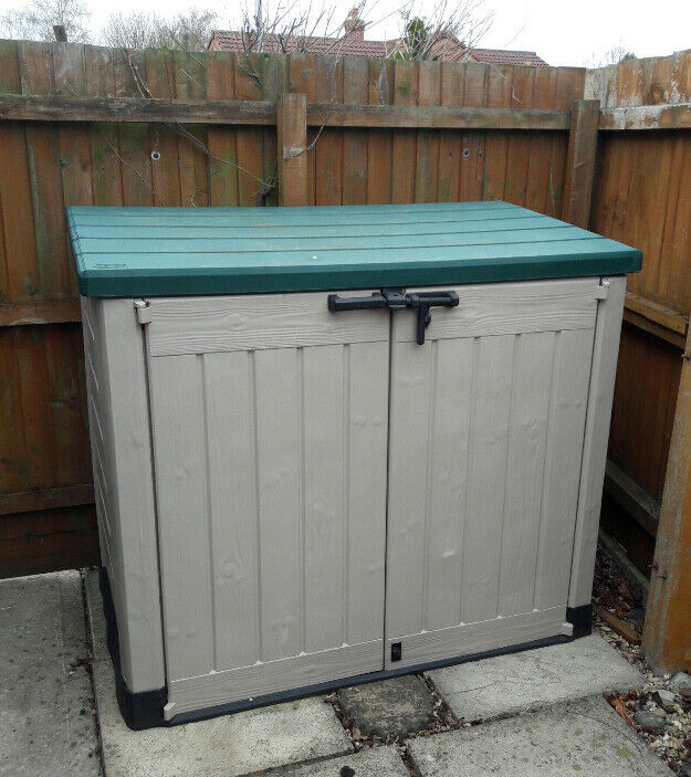 Outdoor Garden Storage Container In Holbeach Lincolnshire Gumtree