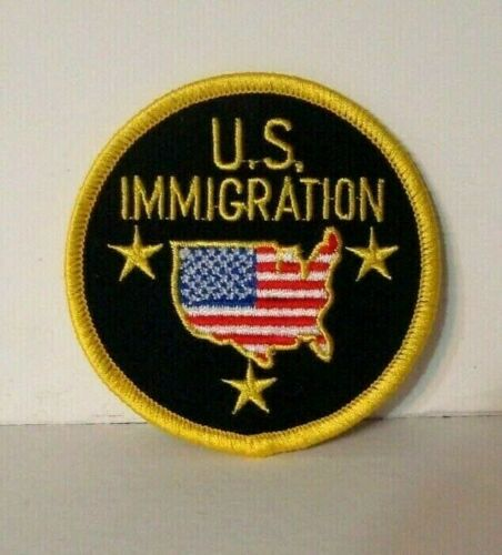 U.S. IMMIGRATION POLICE OFFICER  patch