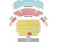 2 tickets to see 42nd street - theatre royal - Drury Lane - Great seats!!!