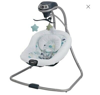Graco Simple Sway Baby Swing Speed Vibration Abbington