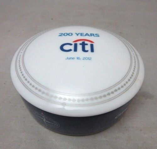 2012 Mottahedeh Porcelain Citigroup advertising box. 200 Years