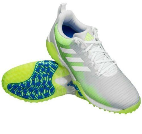 43 1/3  uk 9 Adidas ⛳ CodeChaos Boost Gr. Herren Golfschuhe  Schuhe weiß neu