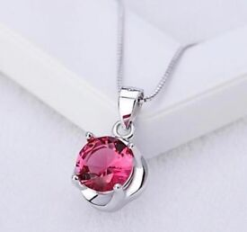 LADIES NECKLACE STERLING SILVER 925 perfect xmas present