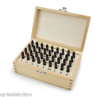 36 PC.NUMBER AND LETTER STAMP PUNCH SET ...