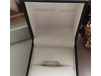 Ernest Jones 15 point diamond white gold ring