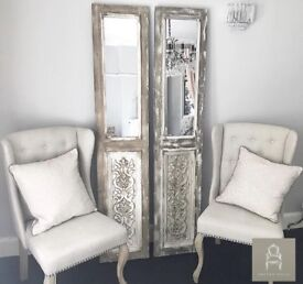 Country French Style Mirror Panel