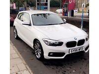 BMW 1 Series 1.5 118i Sport Hatch 3dr (White)