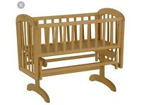 Anna Gladier Crib - neutral with mattress