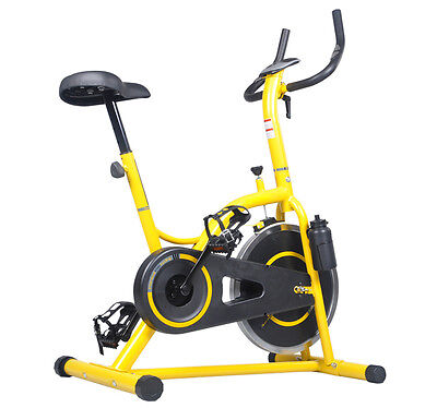 Exercise Bike Cycling Studio Bicycle Cardio Fitness On Board Computer
