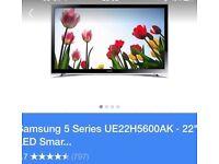 Samsung 22-inch SMART TV £100.00