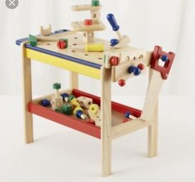 Pintoy Boys solid wooden workbench