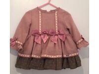 Girls Spanish Designer Dolce Petit Dress