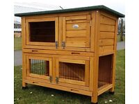Outdoor rabbit/small animal hutch