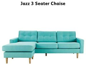 Aqua - Jazz 3 Seater Chaise Clontarf Redcliffe Area Preview