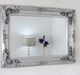 "Vintage style ornate mirror 48""x36"""