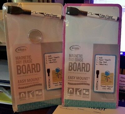The Board Dudes Magnetic Dry Erase Board w/ Magnetic Backing - New  (Board Dudes)