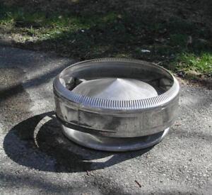 Chapeau de cheminée en acier inoxydable 8'' diamètre