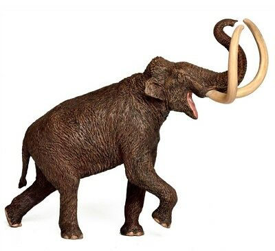Steppe Mammoth  Non Dinosaur  Prehistoric Model Figure Toy Eofauna Woolly Mammal