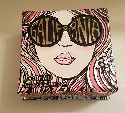 Benefit Cosmetics GALifornia Blush Spring 2017 Full Size NEW limited