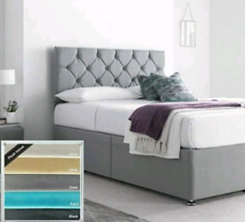 NEW DIVAN BEDS ALL SIZES. SALE NOW ON PLUSH BEDS + MATTRESS BUY DIRECT