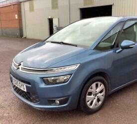 2015 Citroen GRAND C4 PICASSO 1.6 BlueHDi Exclusive+ 5dr EAT6 MPV Diesel Manual