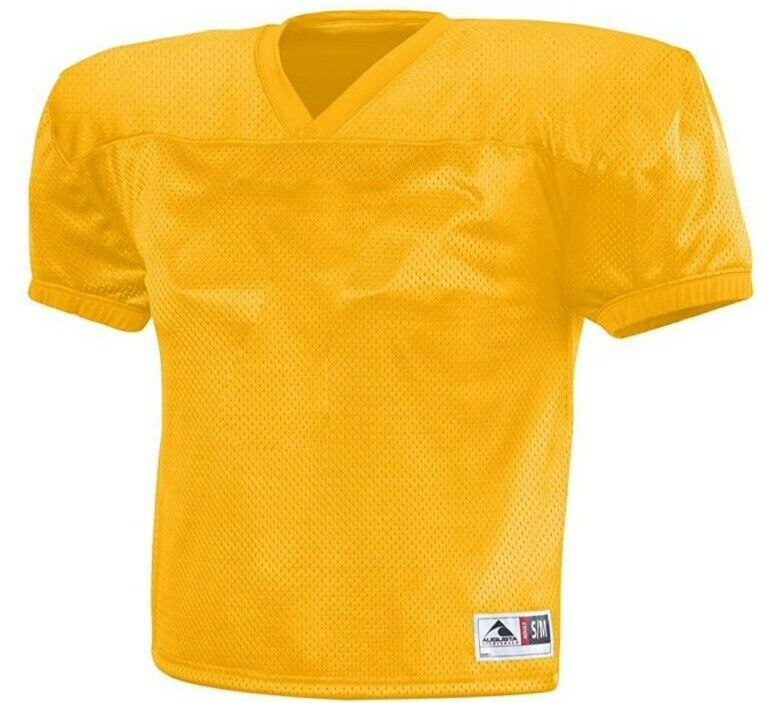 Lot of 6: Augusta Sportswear Youth Dash Practice Jersey (9506 Gold)