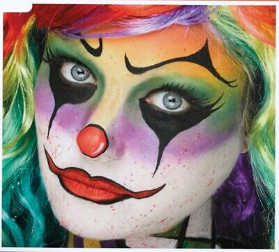 Halloween Makeup Kits (Halloween, Cosplay Rainbow Killer Clown Stage Makeup Kit - Palette)