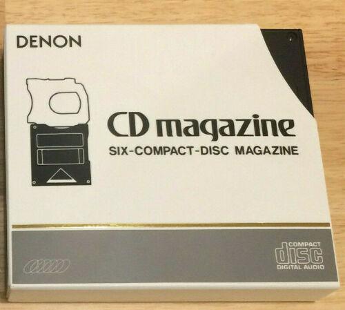 Denon 6 CD Magazine ACD-10 w/ Sleeve