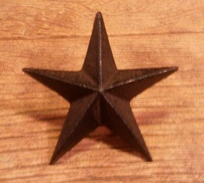 Star Nail Large Cast Iron Star 3 1/2