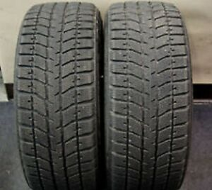 255/55R20 Set of 2 Brigestone Used Free Inst.&Bal.75%Tread Left
