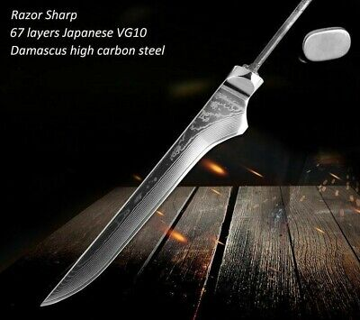 Bone Cutter Knife Damascus Steel Cutting Slicing Tool Kitchen Knives Accessories Slicing-tool